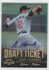 2011 Playoff Contenders #DT38 Sean Gilmartin Atlanta Braves Auto Baseball Card