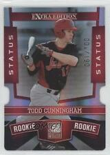 2010 Donruss Elite Extra Edition Status Red Die-Cut #118 Todd Cunningham Card