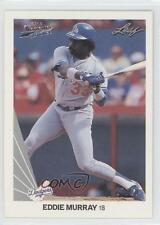 2012 Leaf Memories 1990 Buy Back Silver Foil #181 Eddie Murray Baseball Card