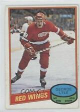 1980-81 O-Pee-Chee #379 George Lyle Detroit Red Wings RC Rookie Hockey Card