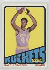 1972-73 Topps #235 Ralph Simpson Denver Rockets (ABA) Basketball Card