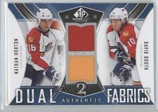 2009 SP Game Used Edition AF2-HB Nathan Horton David Booth Florida Panthers Card