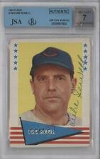 1961 Fleer Baseball Greats #138 Luke Sewell AUTHENTICATED Cleveland Indians Card