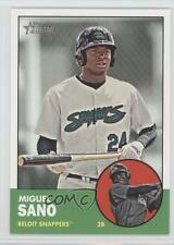 2012 Topps Heritage Minor League Edition #6.2 Miguel Sano Minnesota Twins Card