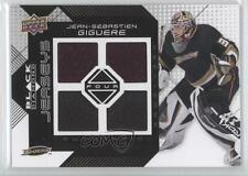2008-09 Upper Deck Black Diamond Quad Jerseys BDJ-JG Jean-Sebastien Giguere Card