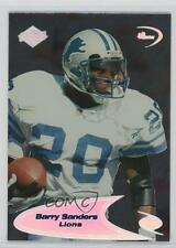 1998 Collector's Edge Odyssey #237S Barry Sanders Detroit Lions Football Card