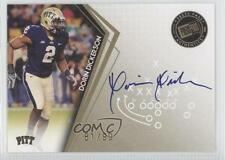 2010 Press Pass Signatures Gold #PPS-DD Dorin Dickerson Pittsburgh Panthers Auto