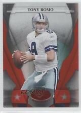 2008 Leaf Certified Materials Mirror Red #33 Tony Romo Dallas Cowboys Card