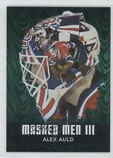 2010-11 In the Game Between Pipes Masked Men III Emerald #MM-01 Alex Auld Card