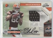 2009 Playoff Absolute Memorabilia #5 Brian Robiskie Cleveland Browns Auto Card