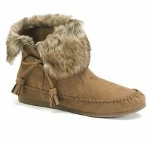 WOMENS MADDEN GIRL FINN CASUAL MOCCASIN ANKLE BOOTS  NIB $59.99