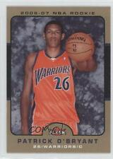 2006-07 Fleer Glossy #209 Patrick O'Bryant Golden State Warriors Basketball Card