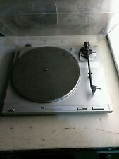 Vintage MCS # 683-6203 Belt Drive Turntable. Use for parts.power on tested