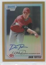 2010 Bowman Chrome #BCP193 Dan Tuttle Cincinnati Reds Auto Rookie Baseball Card