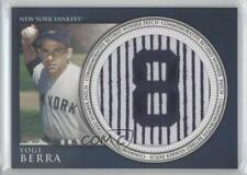 2012 Topps Manufactured Retired Number Patch #RN-YB Yogi Berra New York Yankees