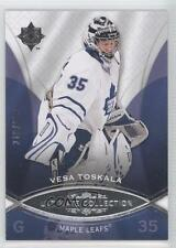2008-09 Ultimate Collection #39 Vesa Toskala Toronto Maple Leafs Hockey Card