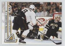 2010-11 Panini Pinnacle 194 Teemu Selanne Anaheim Ducks (Mighty of Anaheim) Card