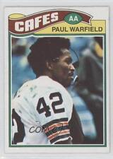1977 Topps Mexican #185 Paul Warfield Cleveland Browns Football Card