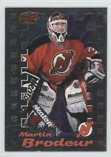 1998 Pacific Dynagon Ice Inserts 12 Martin Brodeur New Jersey Devils Hockey Card