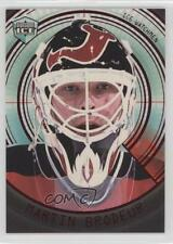 1998 Pacific Dynagon Ice Watchmen 5 Martin Brodeur New Jersey Devils Hockey Card
