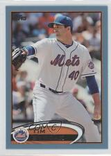 2012 Topps Update Series Wal-Mart Blue #US175 Tim Byrdak New York Mets Card
