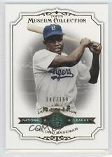 2012 Topps Museum Collection Green #82 Jackie Robinson Brooklyn Dodgers Card