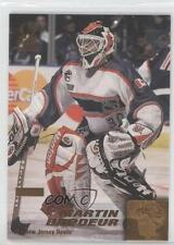 1999 Pacific Omega Gold Non-Numbered #133 Martin Brodeur New Jersey Devils Card