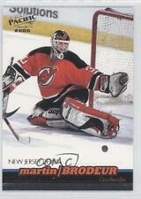 1999-00 Pacific Sample #N/A Martin Brodeur New Jersey Devils Hockey Card