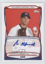 2010 Topps USA Baseball Team Autographs A-27 Sean Gilmartin (National Team) Auto
