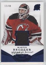2013-14 Panini Dominion Authentic Material Jersey D-MB Martin Brodeur New Devils
