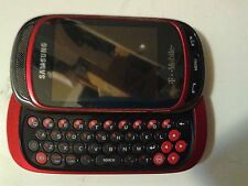 Samsung Gravity T SGH-T669 - Red (T-Mobile) Cellular Phone Working