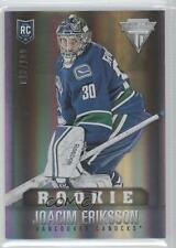 2013 Panini Rookie Anthology #310 Joacim Eriksson Vancouver Canucks Hockey Card