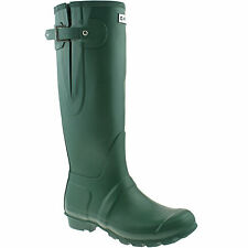 LADIES HI-TEC RUBBER WELLINGTON BOOTS SIZE UK 5 - 7 WELLIES GREEN ELMER