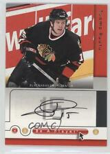 2005 Upper Deck Be a Player SP Signatures Autographed #RU Tuomo Ruutu Auto Card