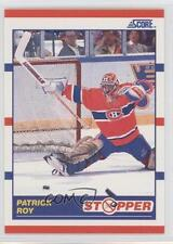 1990-91 Score #344 Patrick Roy Montreal Canadiens Hockey Card