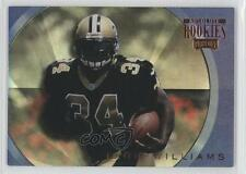 1999 Playoff Absolute SSD Rookies #AR35 Ricky Williams New Orleans Saints Card