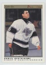 1990-91 O-Pee-Chee Premier #5 Daniel Berthiaume Los Angeles Kings Hockey Card