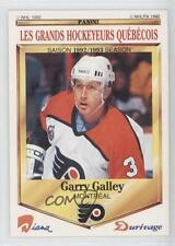 1992 Panini Diana/Durivage Les Grands Hockeyeurs Quebecois #41 Garry Galley Card