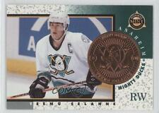 1997 Pinnacle Mint Collection #7 Teemu Selanne Anaheim Ducks (Mighty of Anaheim)