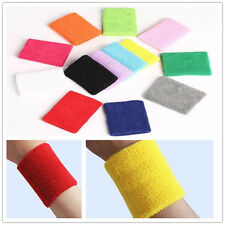 Simple General Sports Polychrome Absorb Sweat Cotton Towelling  Wristbands super