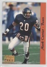 1993 Classic Pro Line Live #24 Mark A Carrier Chicago Bears A. Football Card