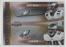 2009 Playoff Contenders Draft Class Black #18 Jeremy Maclin LeSean McCoy Card