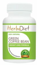 PURE Green Coffee Bean 50% Extract Capsules Weight Loss Fat Burner Slimming Aid
