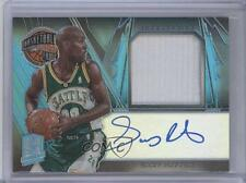 2013 Panini Spectra Hall of Fame Jersey Autographs Light Blue 8 Gary Payton Auto