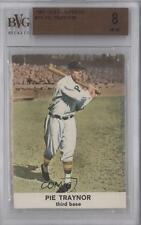 1961 Golden Press Hall of Fame #15 Pie Traynor BVG 8 Pittsburgh Pirates Card