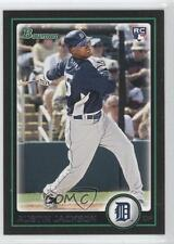 2010 Bowman #198 Austin Jackson Detroit Tigers RC Rookie Baseball Card