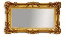 Wall mirror GOLD 96x57 Antique Baroque Shabby Chic Floor Hairdressing Boutique
