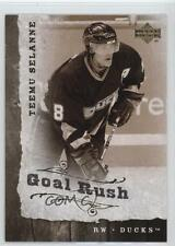 2006 Upper Deck Goal Rush #GR12 Teemu Selanne Anaheim Ducks (Mighty of Anaheim)