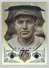 2014 Panini Hall of Fame Green Shield Blue #21 Pie Traynor Pittsburgh Pirates