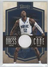 2009-10 Panini Classics Dress Code Jersey #12 Dwight Howard Orlando Magic Card